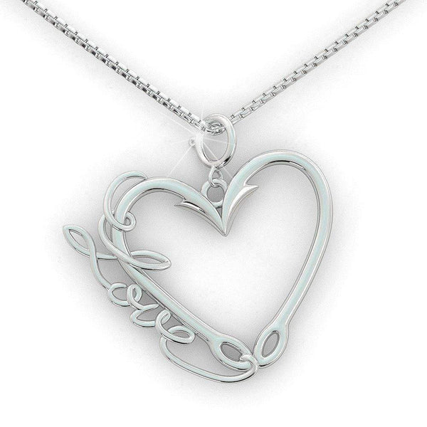 Love Fishing Premium Necklace