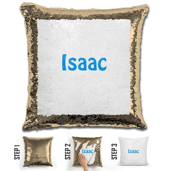 Custom Name Personalized Magic Sequin Pillow Pillow GLAM