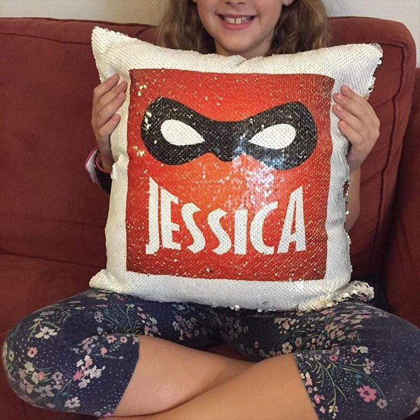 Super Personalized Magic Sequin Pillow Pillow GLAM