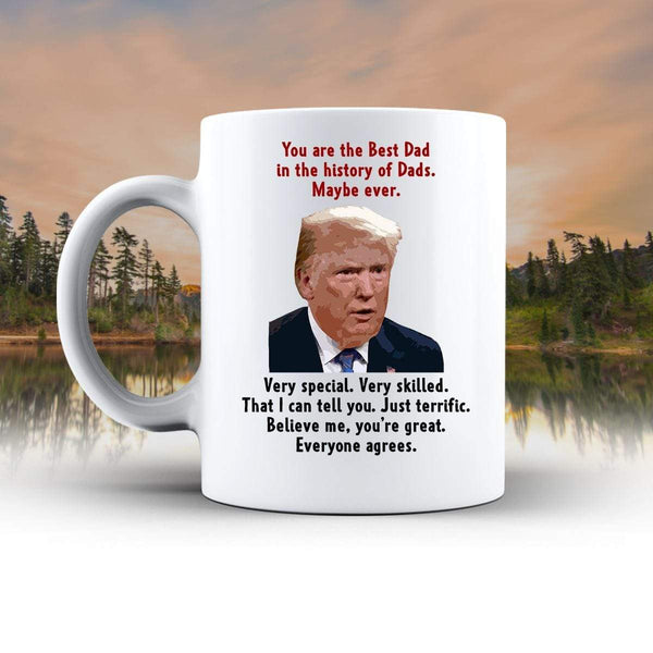 Funny Trump Dad 15 oz Mug Mugs CustomCat