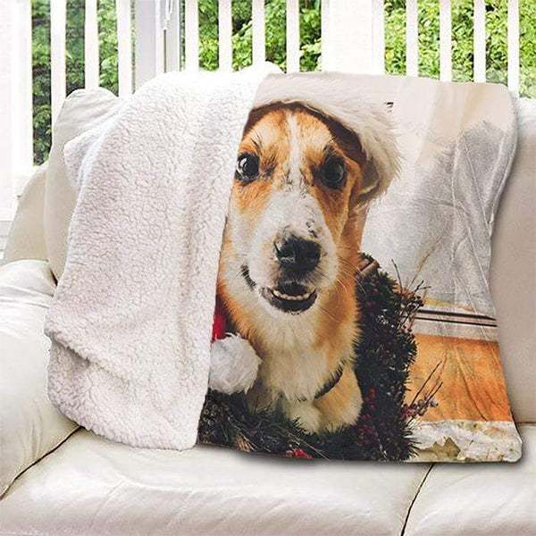 Photo Personalized Sherpa Blanket