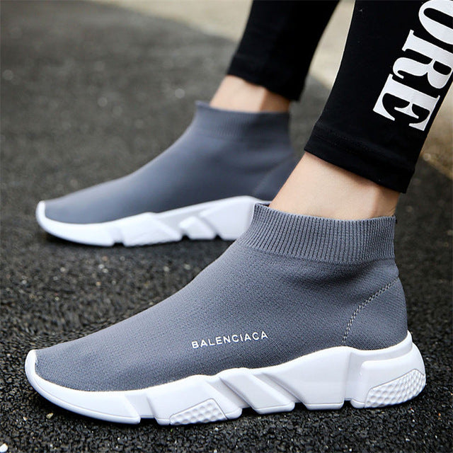 2018 Brand Breathable sport athletic Running Shoe for Men unisex breathable Mesh female sock Sneakers Outdoors Jogging trainers - MASTYLES ONLINE EXPRESS