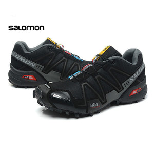 2018 Salomon Men Shoes zapatos hombre Speed Cross 3 CS III Sport Sneakers Men Speedcross Free Run Shoes city marathon - MASTYLES ONLINE EXPRESS