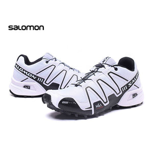 2018 Salomon Speed Cross 3 CS III Sport Sneakers Men white Speedcross Outdoor off-road lightweight running shoes city marathon - MASTYLES ONLINE EXPRESS