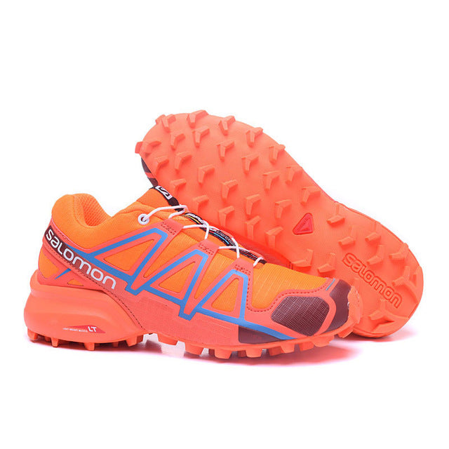 4e01aa52d039 ... 2018 Salomon Speed Cross 4 Free Run Salomon Sport Shoes JOGGING Outdoor  Running DAMPING Sneakers Women ...