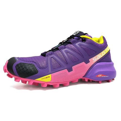 2018 Salomon Speed Cross 4 Free Run Salomon Sport Shoes JOGGING Outdoor Running DAMPING Sneakers Women SHOES 36-41 3COLORS - MASTYLES ONLINE EXPRESS