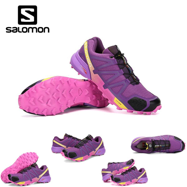 2018 Salomon Speed Cross 4 Free Run Salomon Sport Shoes for Woman Jogging Outdoor Breathable Dapming Sneakers Shoes 36-42 3COLOR - MASTYLES ONLINE EXPRESS