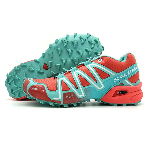 2018  red  green  Salomon Speed Cross 3 CS Anti-Slip Sneaker Comfortable Jogging Shoes Women Running Shoes Pink eur 36-41 - MASTYLES ONLINE EXPRESS