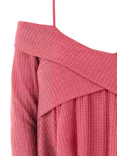 Load image into Gallery viewer, Crisscross Open Shoulder Tunic Sweater