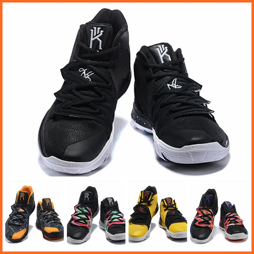 super popular f7939 46594 2019 New Arrival KYRIE 5 shoes EP Irving 4 Mens Shoes Basketball work shoes  Bruce Lee all stars what the 12 color size 39-46