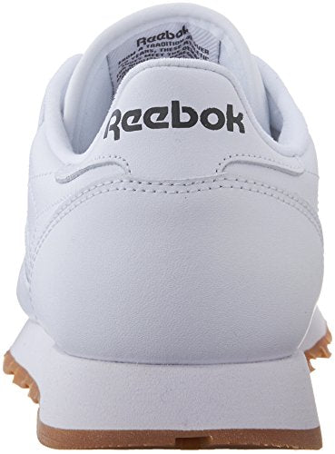 3925ddaaa3008 Reebok Men's Classic Leather Sneaker, White/Gum, 8.5 M US | Fashion Sneakers