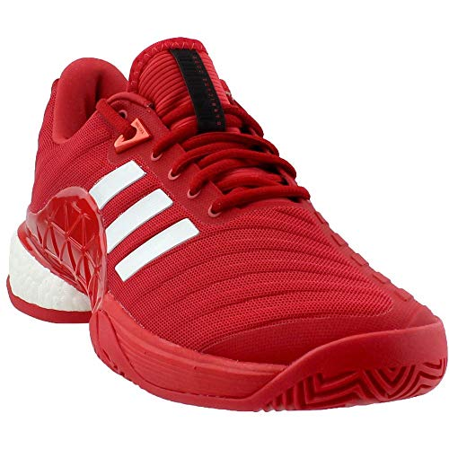 buy online 1a554 5fbb0 Adidas Men s Barricade 2018 Boost Real Coral White Real Coral 7.5 D US ...