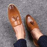 RoadTrack New Oxford Shoes Leather 2017 Lace Up Front Men Fashion Pointed Toe Men Shoes Leather Male Flats XMC0281-5