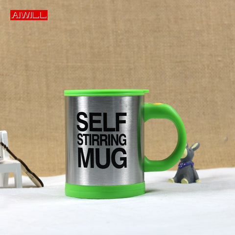 AIWILL Quality Mug Automatic Electric Lazy Self-Stirring Mugs Automatic Coffee Milk Mixing Tea Smart Stainless Steel Mix cup
