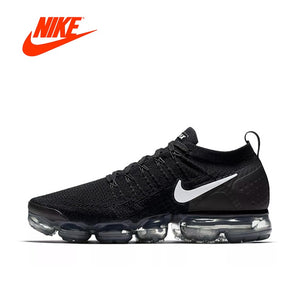Authentic NIKE AIR VAPORMAX FLYKNIT 2 Mens Running Shoes Original New Arrival Sneakers Breathable Sport Outdoor Good Quality