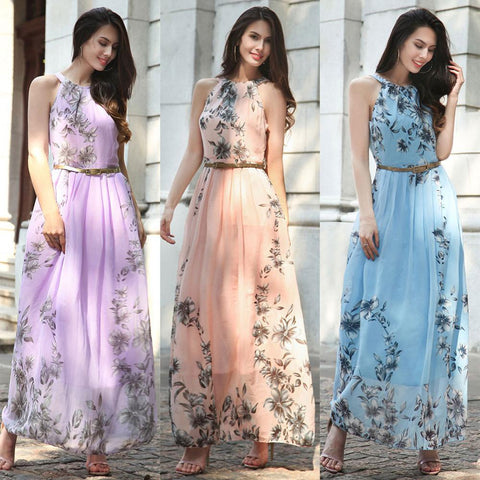Chiffon Maxi Dresses Women Summer Boho Maxi Dress Long Beach Dress 2019 - Buy Beach Dress 2019,Boho Maxi Dress,Chiffon Maxi Dresses Product on Alibaba.com