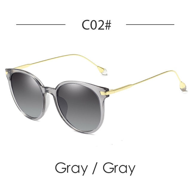 120256c9900ee ... Designer Cat Eye Sunglasses Women Polarized Vintage Luxury Round  Polaroid Women Sunglasses Diamond Fashion Sun Glasses ...