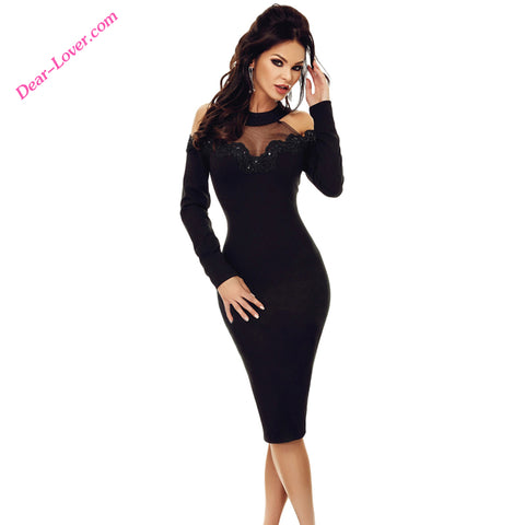 Fashion Wholesale Applique Cold Shoulder Women Elegant Dresses - Buy Women Elegant Dresses,Woman Sexy Dress,Elegant Dress For Mature Woman Product on Alibaba.com