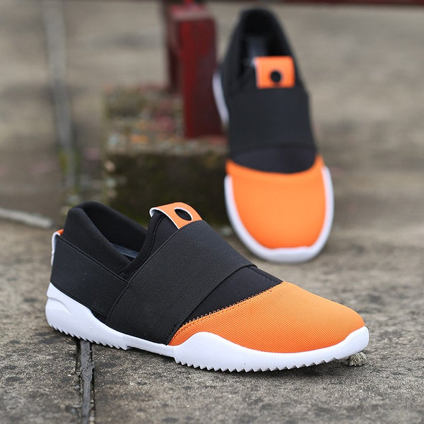 3280a5e53ca5 ... men outdoor lightweight sport running sneakers shoes breathable stretch  fabric jogging training shoes sneakers men male ...