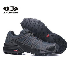 Hot Sale Salomon Men's Speedcross 4 Trail Runner Outdoor Sports Shoes Sp4 Wide Forces Big Size 40-45