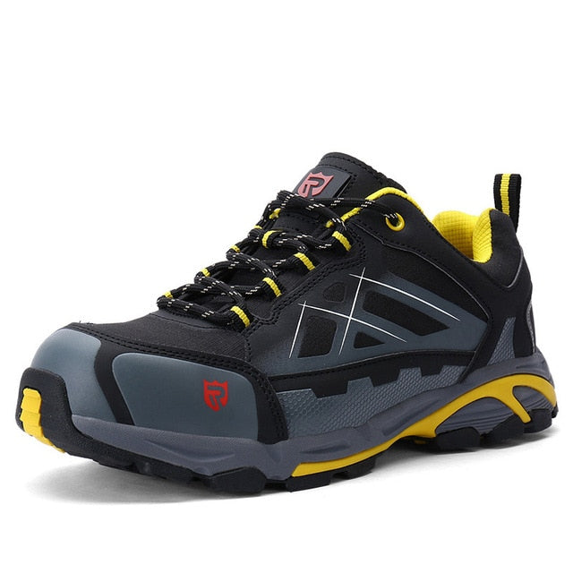 5a67ea63329 LARNMERN Mens Work Boots Steel Toe Safety Shoes S1P Outdoor Safety Sneakers  SRC Non-slip Anti-static Puncture Proof