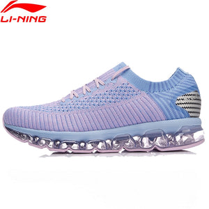 112a166071b8e Li-Ning Women LN ARC 2018 Air Cushion Running Shoes Wearable Breathable  Sneakers Sock-