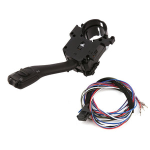 NewestTurn Signal Lever Switch With Harness For Volkswagen New For Bora For Golf MK4 Durable Cruise Control Windshield Wiper