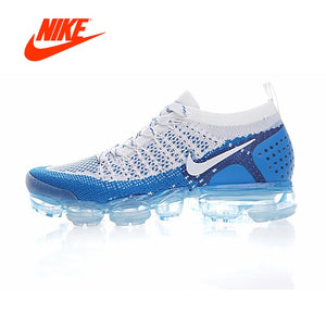 6f4a48303aba Original Authentic NIKE AIR VAPORMAX FLYKNIT 2 Mens Running Shoes Sneakers  Breathable Sport Outdoor Athletic Good
