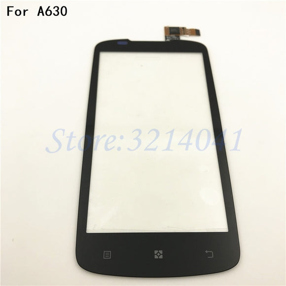 Original Touch Panel Digitizer Replacement For Lenovo A630 Touch Screen Cell Phones Repair Parts +With Logo