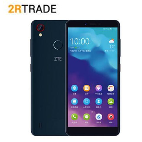 Original ZTE Blade A4  Android 8.1 4GB RAM 64GB ROM Snapdragon Octa Core Dual SIM card 4G-LTE Smartphone Cellphone
