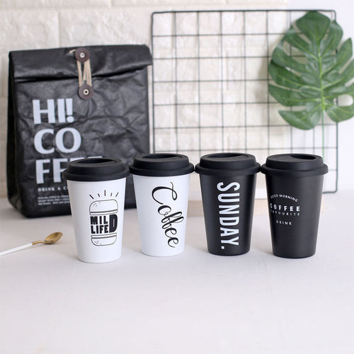 Reusable Stainless Steel Coffee Mugs Cups Tea Coffee Mugs Travel Mug Eco Cup