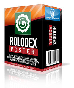 Rolodex Poster Web Directories Submitter Software