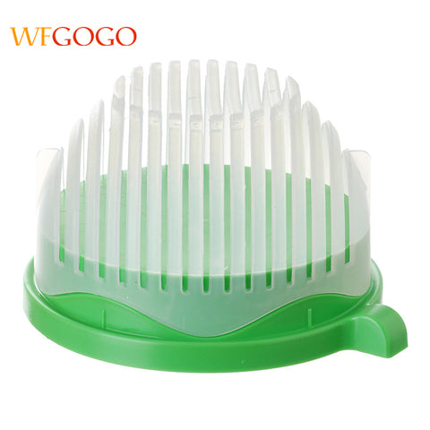 Salad Cutter Bowl 60 Seconds Salad Maker by WFGOGO Easy Fruit Vegetable Kitchen Tools Fast Fresh Salad Slicer Salad Chopper