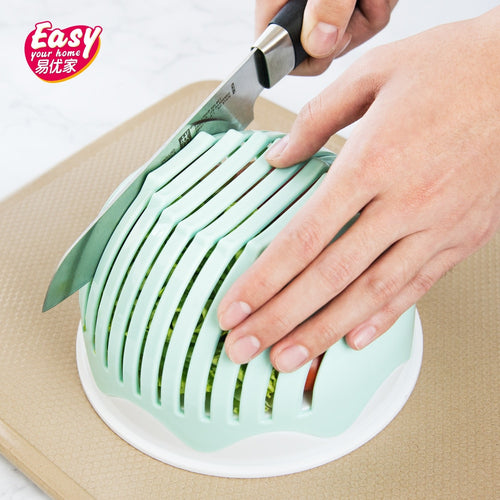 Salad Cutter Bowl Easy Salad Make Tool Fruit Vegetable Chopper Tool Kitchen Gadgets Cutter Carrot Grater Kitchen Accessories