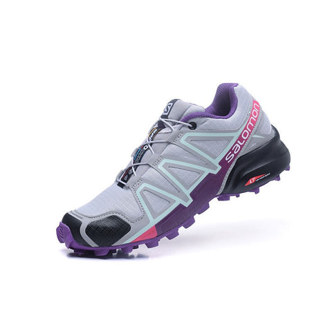 Salomon Speed Cross 4 CS Lace-up Woman Summer Athletic Running  Shoes