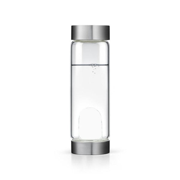 Soffe 600ml Brief Energy Healing Natural Crystal Water Bottle Gemstone Quartz My Glass Water Bottles Bpa Free With Lid Tumbler