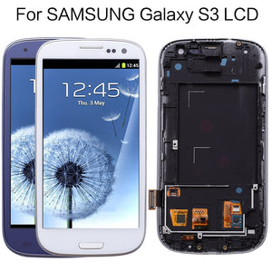 TESTED LCD For Samsung Galaxy S3 LCD Display Touch Screen Digitizer Replacement For SAMSUNG Galaxy S3 Neo I9300i I9308i I9301i