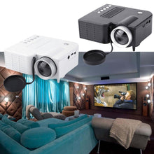 Load image into Gallery viewer, UC28A Mini Portable LED Projector 1080P Multimedia Home Cinema Theater USB TF HDMI AV LED Beamer Projector for Home Use