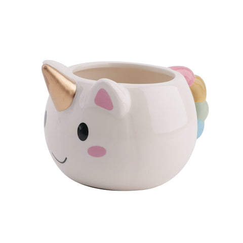 Unicorn Mug 300ml Rainbow Horse Unicorn Mugs Cup Cuteness 3D Unicorn Ceramic Coffee Mug Gold Stereo Cute Unicorn Cups