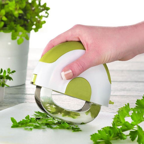 Vanilla Pizza Salad Cutter Bowl Kitchen Gadget Vegetable Fruits Slicer Chopper Washer And Cutter Quick Salad Maker Kitchen tool