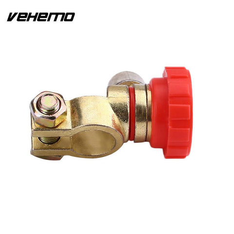 Vehemo Car Charger Cut Off Switch Battery Isolator Disconnect Vehicles Universal
