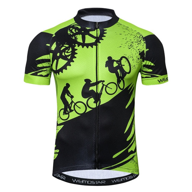 04cc13731 ... Weimostar 2018 Cycling Jersey Men Summer Racing Sport Bike Jersey Shirt  Breathable MTB Bicycle Clothing Ropa ...