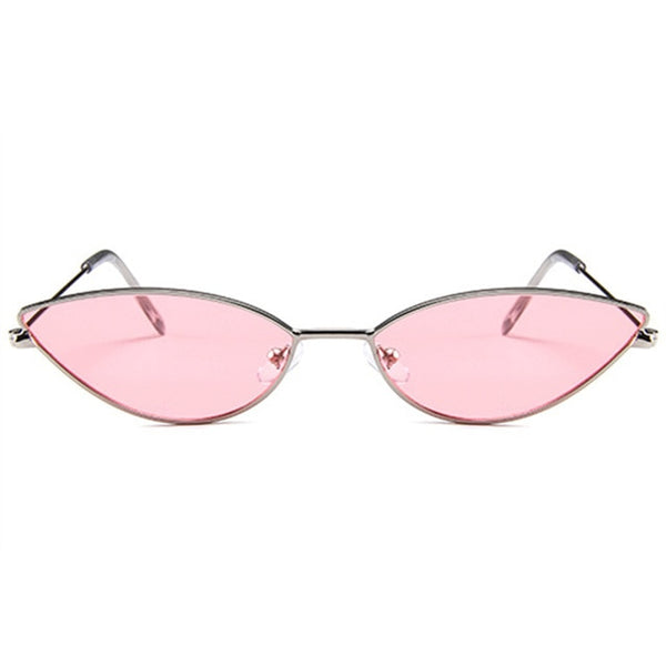 YOOSKE Cute Sexy Cat Eye Sunglasses Women 2018 Retro Small Black Red Pink Cateye Sun Glasses Female Vintage Shades for Women