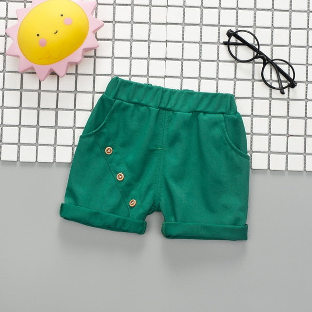 57aca973560a ... kids summer shorts age for 1-6 yrs baby boys casual candy color beach  clothes ...