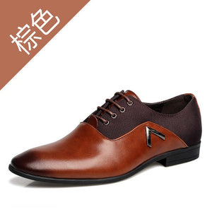 Formal Banquet Leather Shoes Male