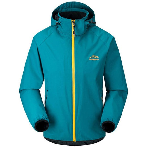 HEE GRAND Men Jacket 2018 New Arrival Fashion  Mountaineering Breathable Windproof Rainproof Windbreaker MWJ263