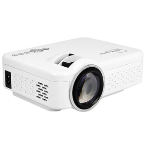 Multimedia Projector LED Projector Mini Home Cinema Video Projector Wifi HDMI VGA USB SD Interface Manual Focus Movie