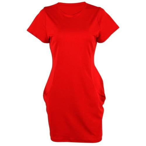 Fashion New Summer Women Short Sleeve Evening Party Cocktail Short Mini Beach Dress