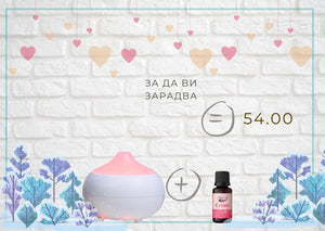 "Diffuser ""Classic"" and ""Create"" essential oil blend"