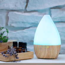 Load image into Gallery viewer, Light Wood Vase Diffuser with Lights